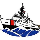 USCG National Security Cutter  by AlwaysReadyCltv