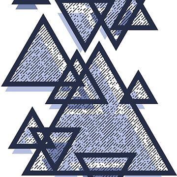 Retro Triangles Pattern by TheMaker