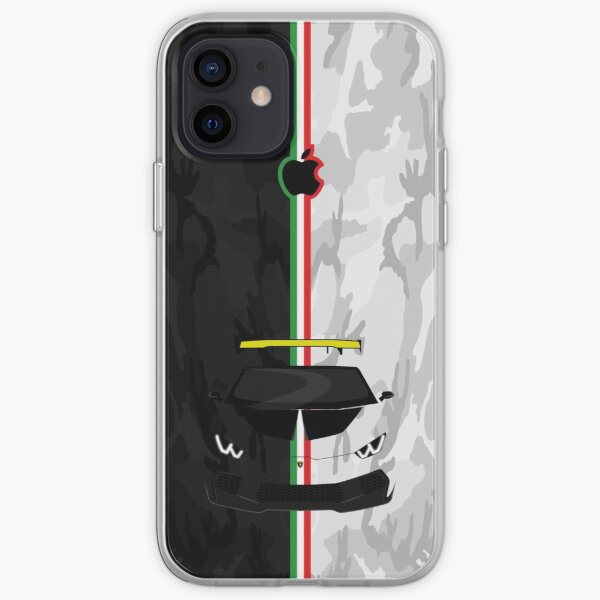 Lamborghini Huracan Camo Coque souple iPhone
