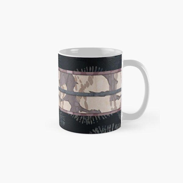 Sea Urchin Shibori Obi Print Classic Mug