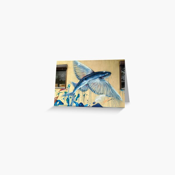 Flying Fish No.3 Greeting Card