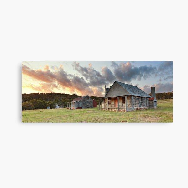 Coolamine Homestead Dawn, Kosciusko National Park, Australia Canvas Print
