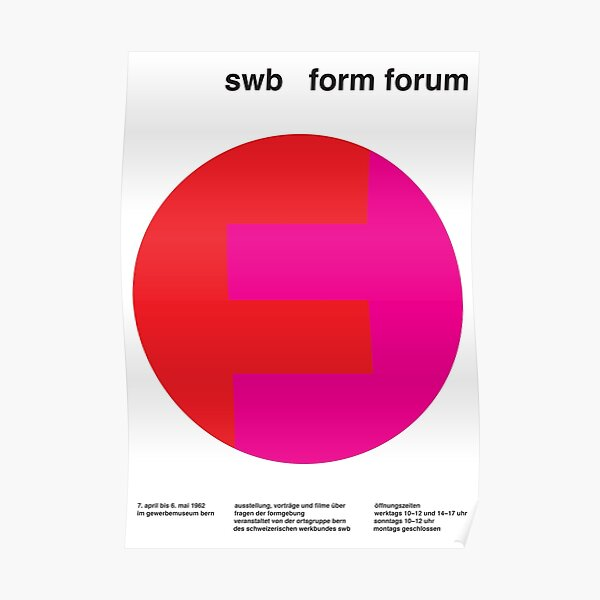 Swiss Style#8 Poster