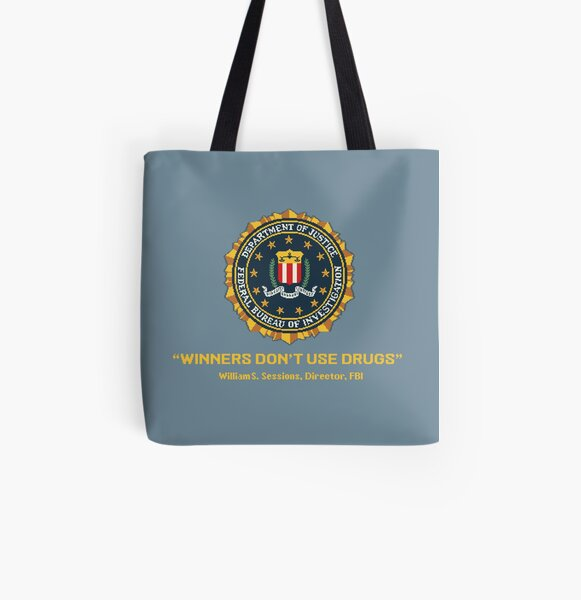 Winners Don't Use Drugs All Over Print Tote Bag