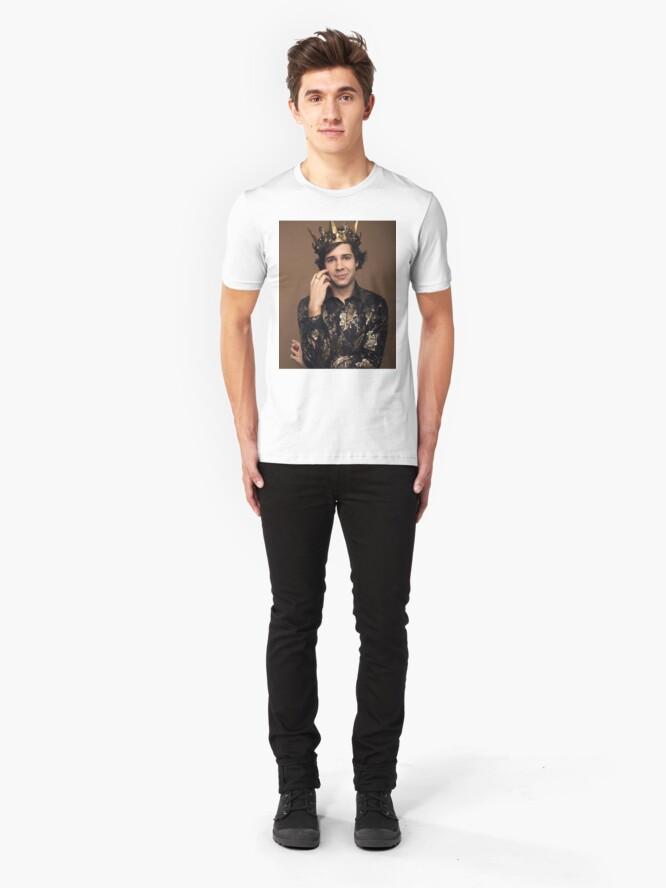 Alternate view of King David Dobrik Slim Fit T-Shirt