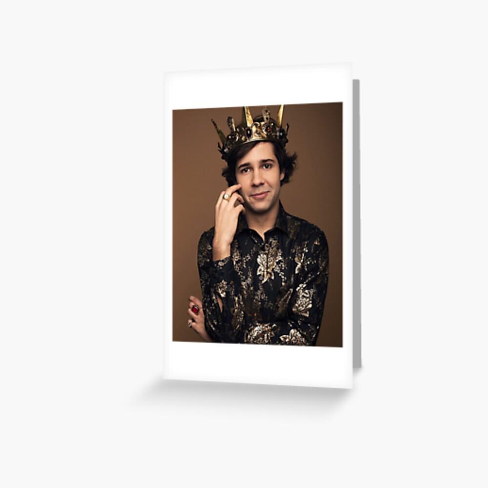 King David Dobrik Greeting Card