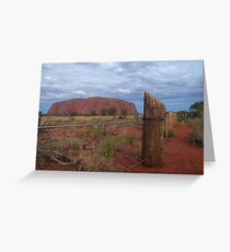 fenced off ....... Greeting Card