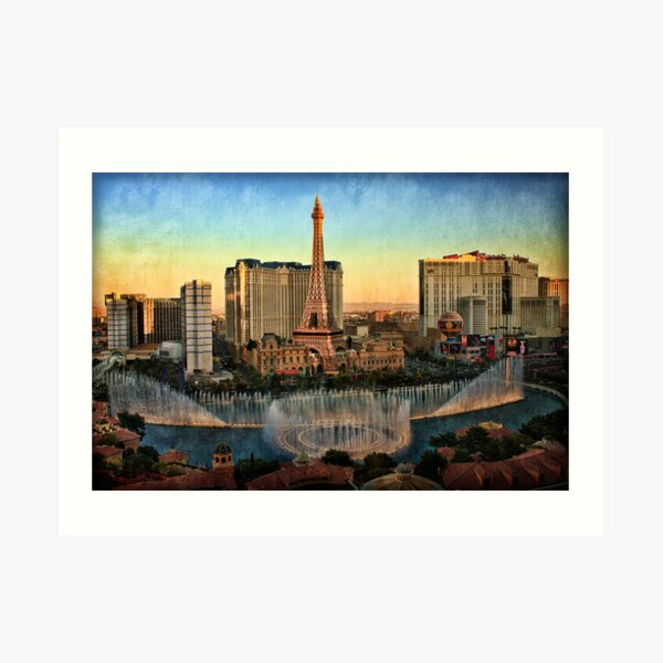 Las Vegas View Art Print