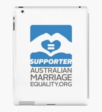 Australian Marriage Equality Supporter iPad Case/Skin