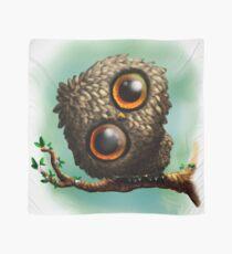 Cute Owl on Branch Scarf