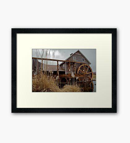Johnson Mill Framed Print