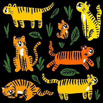 Tiger babies by laurathedrawer