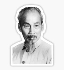 Ho Chi Minh Portrait Sticker