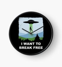 I Want to Break Free - Freddie Returns to Mercury Clock