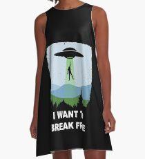 I Want to Break Free - Freddie Returns to Mercury A-Line Dress