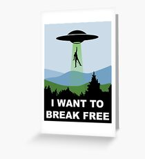 I Want to Break Free - Freddie Returns to Mercury Greeting Card