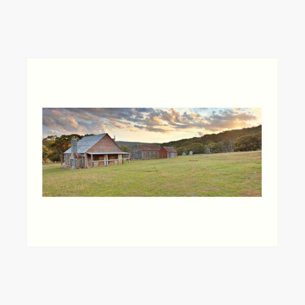 Coolamine Homestead, Kosciusko National Park, Australia Art Print