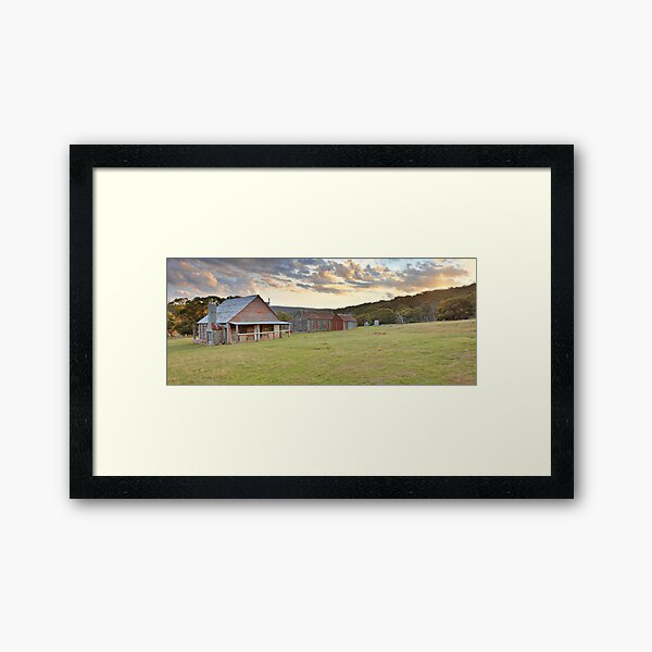 Coolamine Homestead, Kosciusko National Park, Australia Framed Art Print