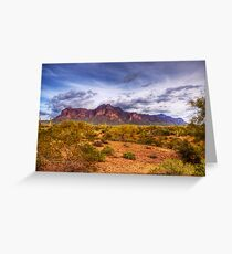 Superstition Mountains-2 Greeting Card