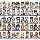 Sixty Grand Prix winning drivers, 1906 - present by dotmund