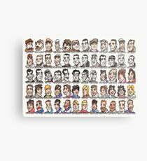Sixty Grand Prix winning drivers, 1906 - present Metal Print