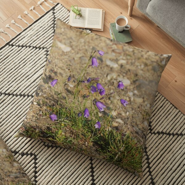 Norillag, #flower #nature #outdoors #grass #field garden leaf season summer petal Floor Pillow