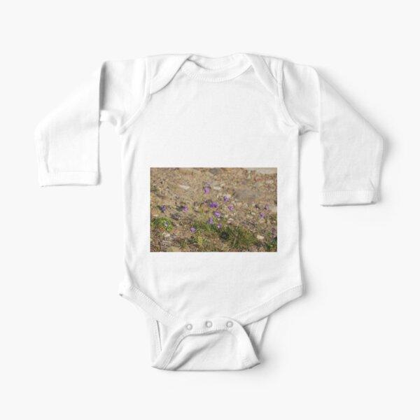 Norillag, #flower #nature #outdoors #grass #field garden leaf season summer petal Long Sleeve Baby One-Piece
