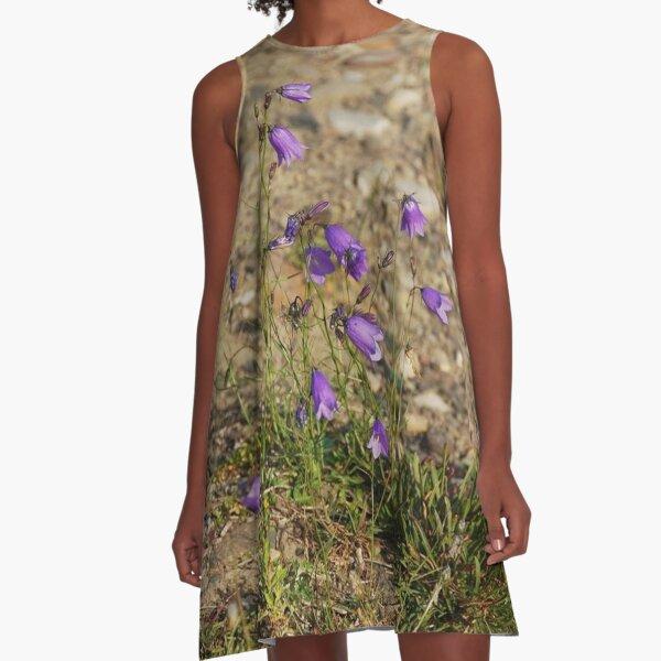 #flower #nature #outdoors #grass #field garden leaf season summer petal A-Line Dress