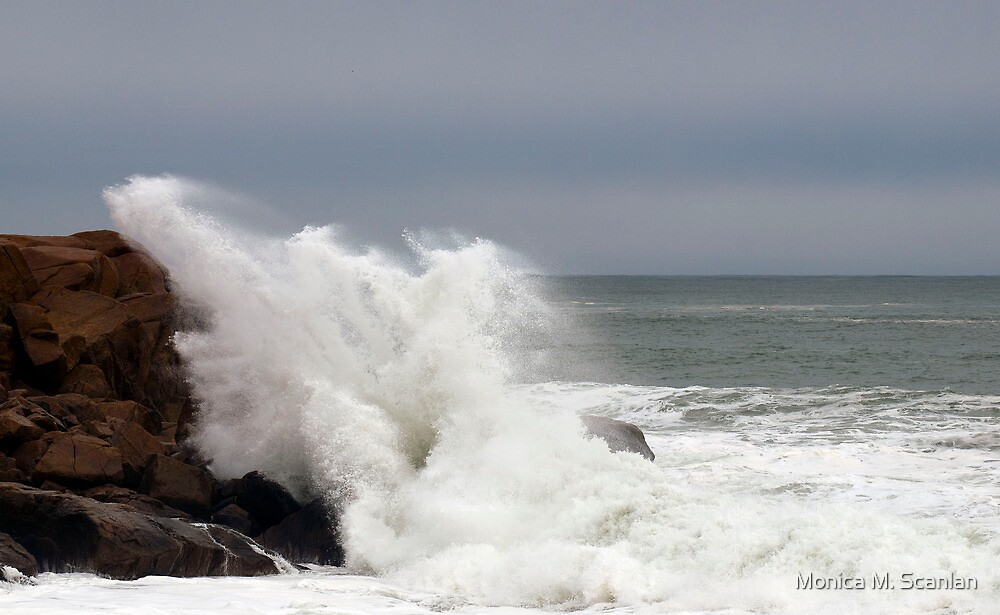 The Raging Sea by Monica M. Scanlan