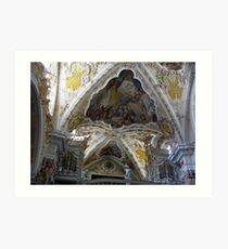 Abbey of Novacella Art Print