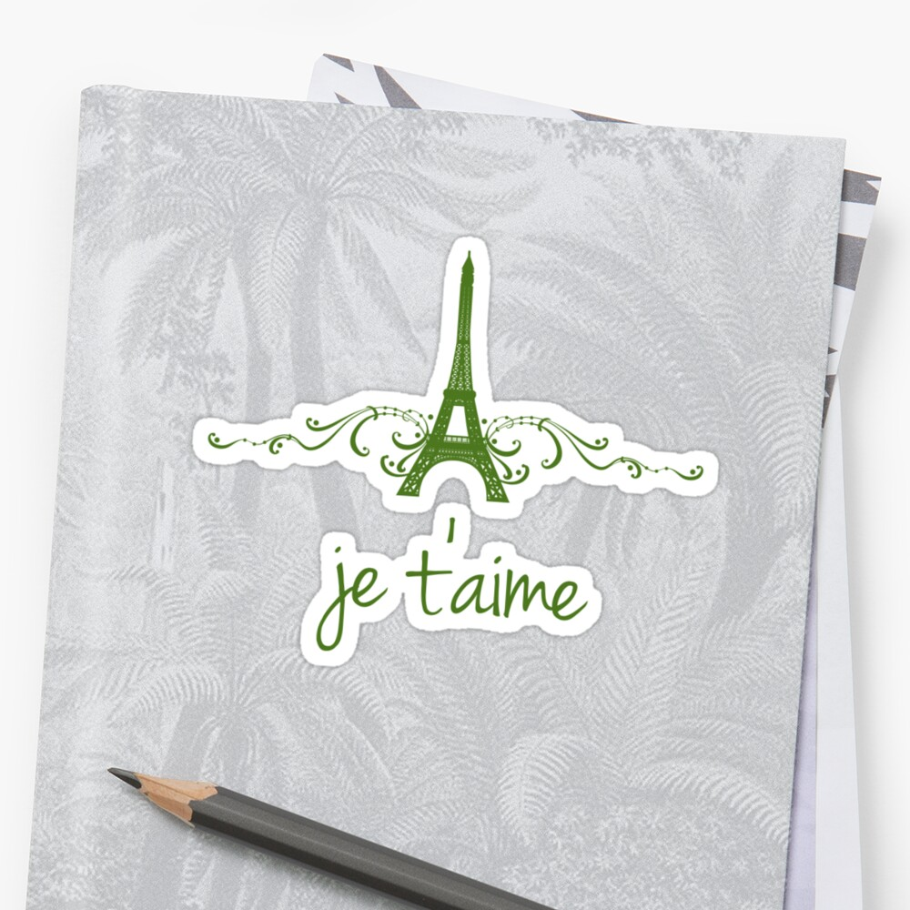 Green Vintage French Flourish by superstarbing