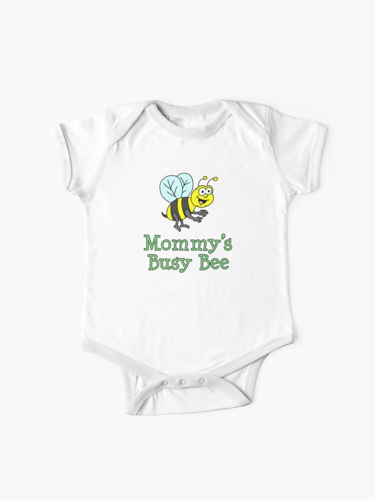Body Para Bebe Mama Es El Dibujo Animado Lindo De Bee Para Bebes