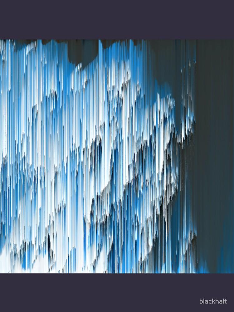 Abstract frozen underwater hands by blackhalt