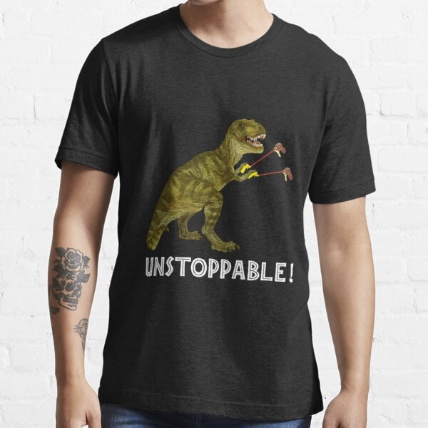 Tyrannosaurus Rex with Grabbers is UnStoppable 2 Essential T-Shirt