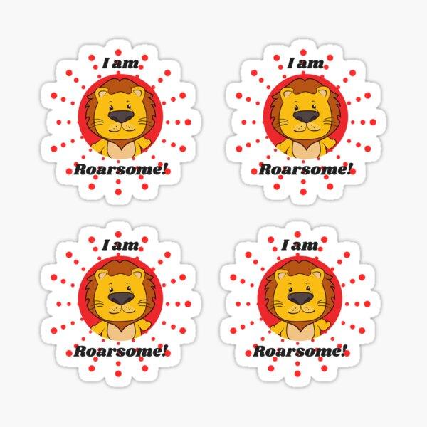 I am Roarsome sticker pack Sticker