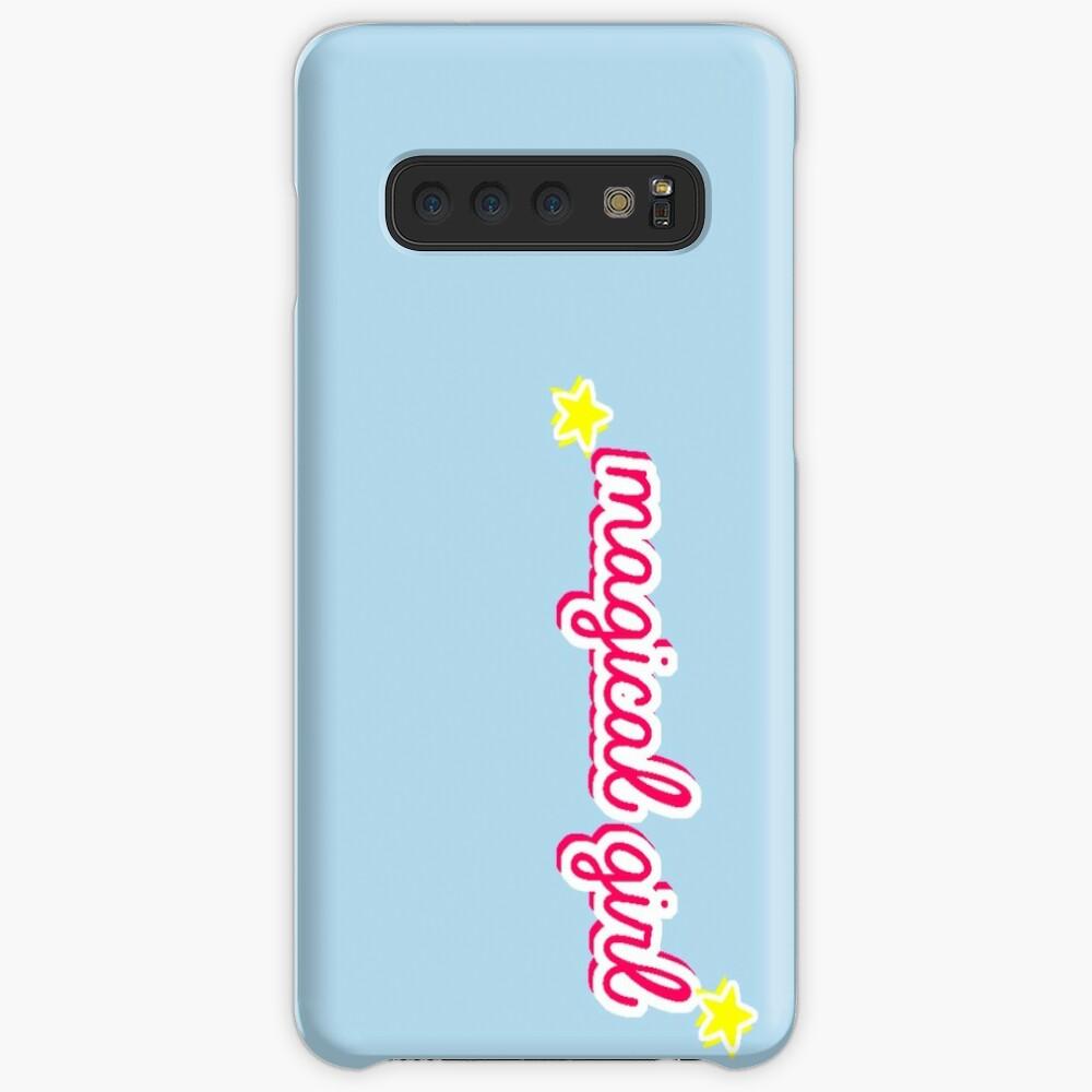 Magisches Mädchen Hülle & Klebefolie für Samsung Galaxy