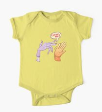 Monstrous witch's hand asking for glove One Piece - Short Sleeve