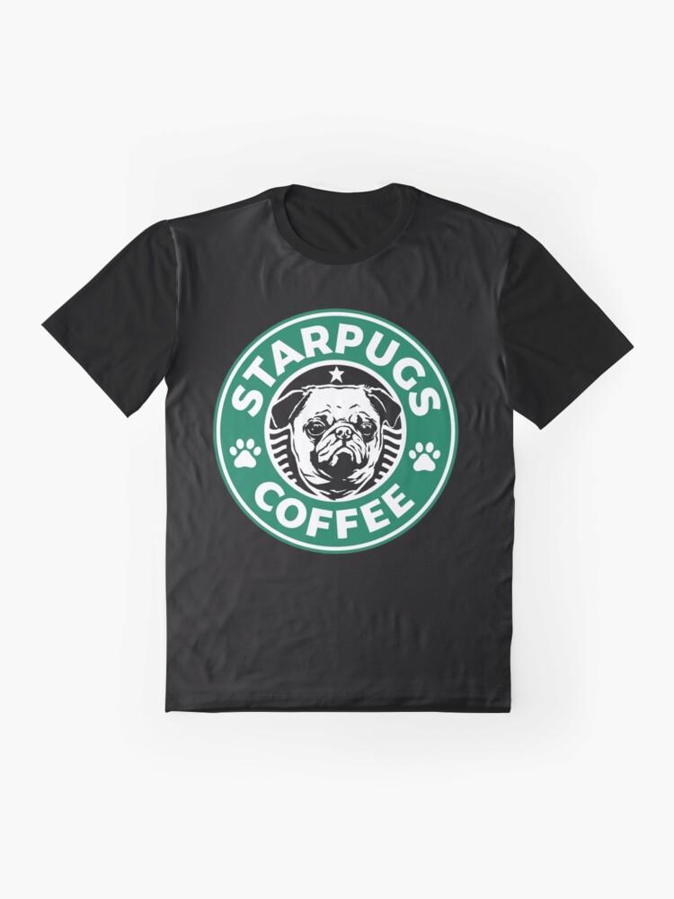 Alternate view of Starpugs Coffee Graphic T-Shirt