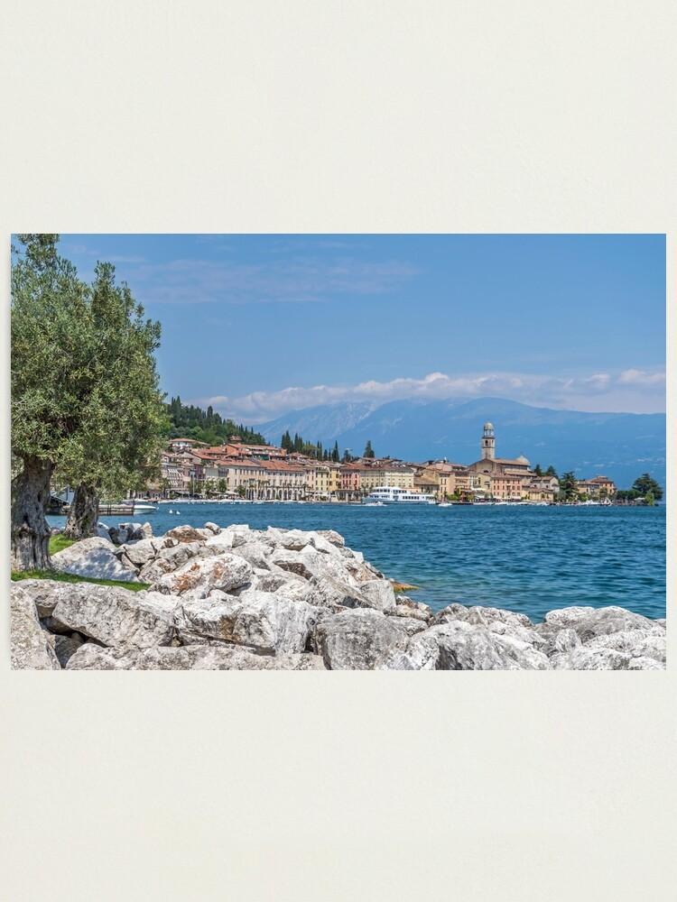 Alternate view of Salo', Lake Garda, Italy Photographic Print