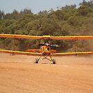 DH37 Tiger Moth Landing by Stephen Horton