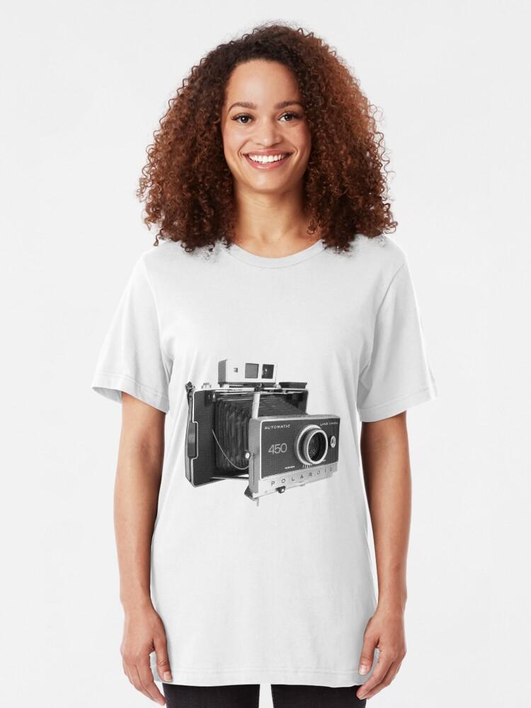 POLAROID CAMERA 100/% COTTON WOMENS RETRO VINTAGE PHOTOGRAPHY TSHIRTS T-SHIRT TOP