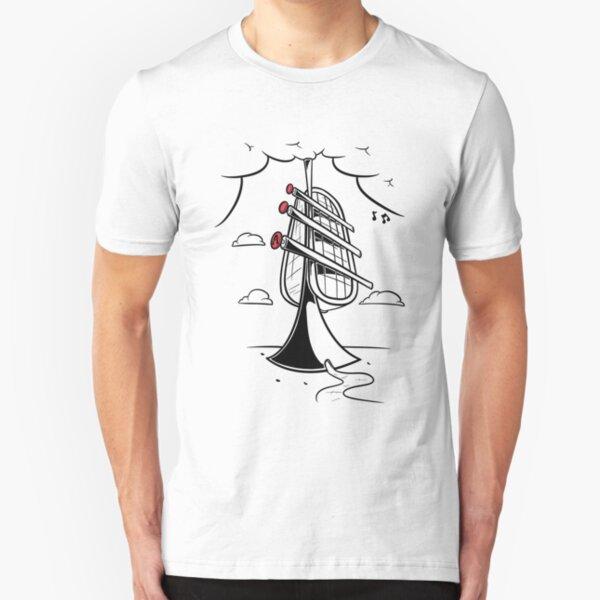 Trumpet tower Slim Fit T-Shirt
