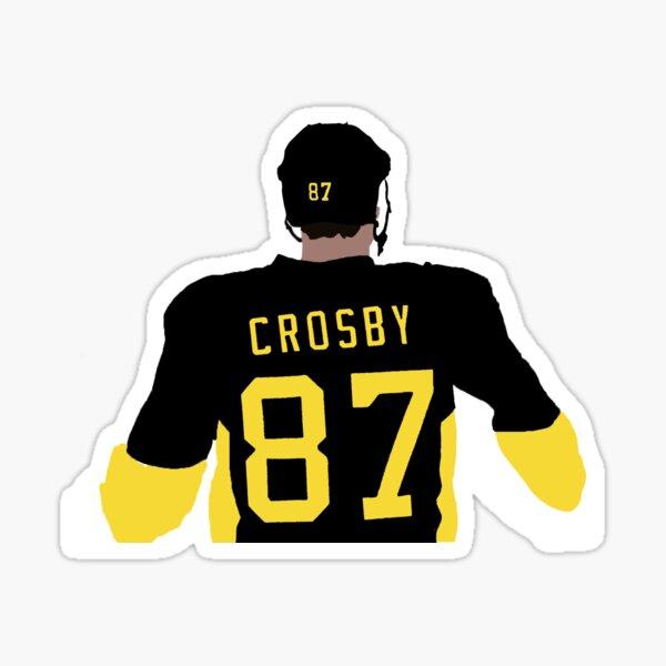 Crosby Back Sticker