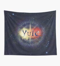 Yule - A god birth Wall Tapestry