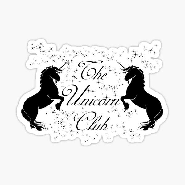 The Unicorn Club of Fantasical Magical Creatures Sticker