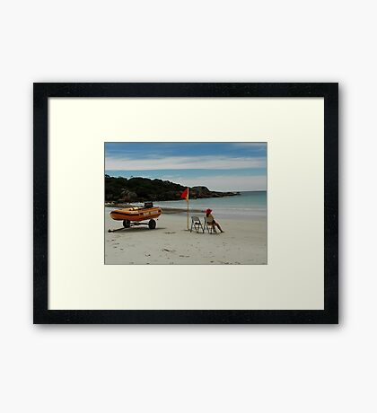 Boat Harbour Beach Surf Rescue Framed Print