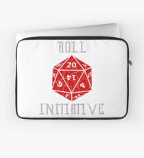 Roll Initiative Dungeons & Dragons gift idea Laptop Sleeve