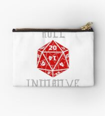 Roll Initiative Dungeons & Dragons gift idea Studio Pouch