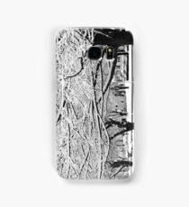 Snow Trees Samsung Galaxy Case/Skin