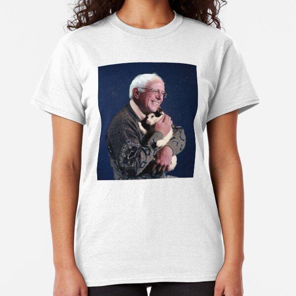 Bernie with Cat Classic T-Shirt